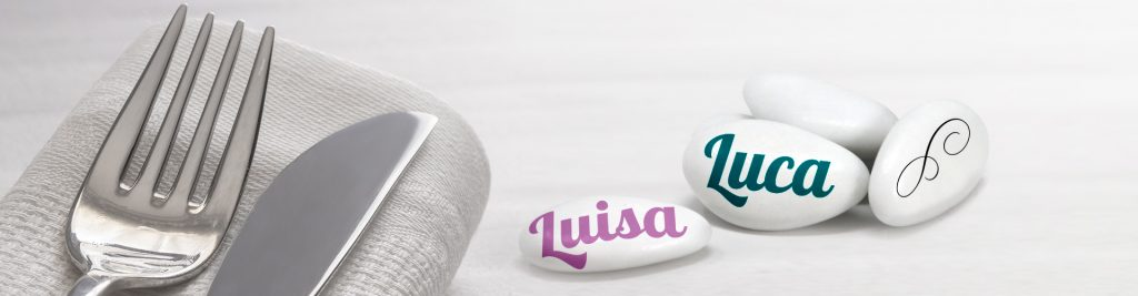 Confetti personalizzati